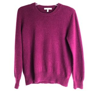 Neiman Marcus Womens Large Red Cashmere Sweater